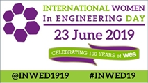 National Women in Engineering Day 2019