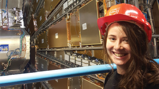 Zoe engineer at CERN