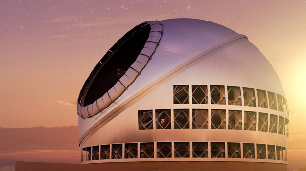 Working with the biggest telescopes in the world engineering