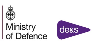 Defence Equipment & Support (DE&S) logo