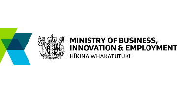The Ministry of Business, Innovation and Employment (MBIE) logo